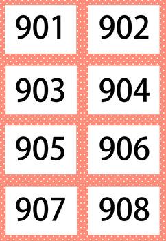 Pink 1-1000 Flash Card Mega Value Bundle