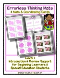 Pink - 4 Color based Mats with Cards - Errorless Thinking