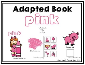 Pink Adapted Book