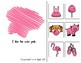 Pink Adapted Book for Preschool, Pre-K and Special Needs