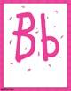 Pink Alphabet Letters & Nameplates