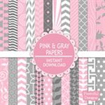 Pink And Gray Paper Pack