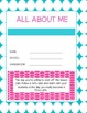 Pink, Aqua and Lime Green Planner