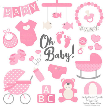 Pink Baby Clipart
