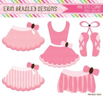 Pink Ballerina Clipart