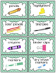 Pink & Mint Classroom Supply Labels Freebie (Pretty Little Classroom)