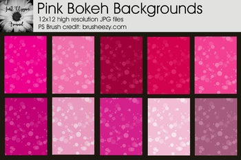 Pink Bokeh Backgrounds