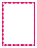 Pink Border Clipart