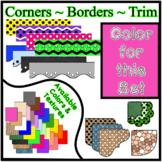 Pink Borders Trim Corners * Create Your Own Dream Classroo