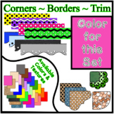 Pink Borders Trim Corners * Create Your Own Dream Classroo