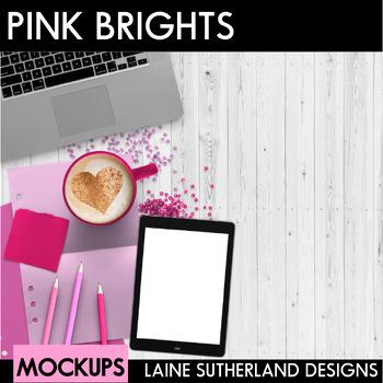 Pink Brights Styled Mockups