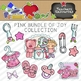 Pink Bundle of Joy Clipart Collection || Commercial Use