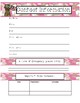 Pink Camo Military Teachers Binder Pages