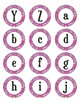 Pink Camouflage Dot Labels