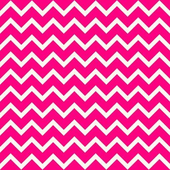 Pink Chevron Digital Paper Pack: Olivia