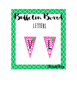Bulletin Board Letters, Numbers, Symbols