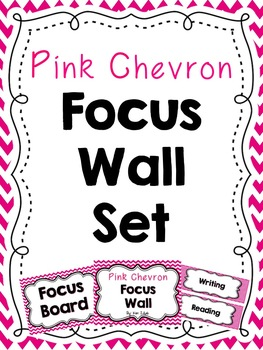 Pink Chevron Focus Wall