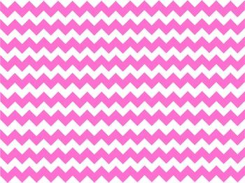 Pink Chevron Lines