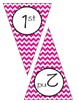 Pink Chevron Welcome Banner