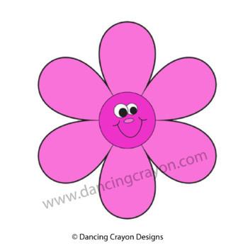 Pink Clip Art - Color Clipart Series Set 7