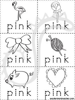 Pink Color Book