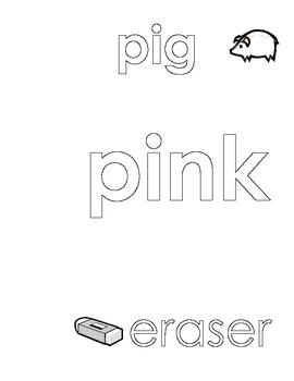 Pink Color Sheet