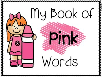Pink Color Word