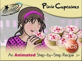 Pink Cupcakes - Animated Step-by-Step Recipe PCS