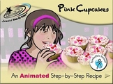 Pink Cupcakes - Animated Step-by-Step Recipe SymbolStix