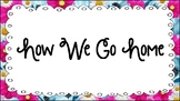 Pink Daisies How We Go Home Chart