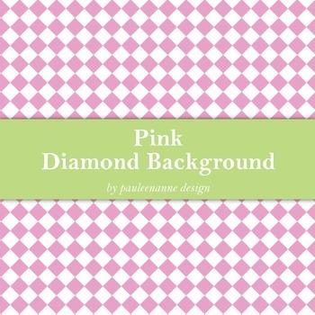 Pink Diamond Background
