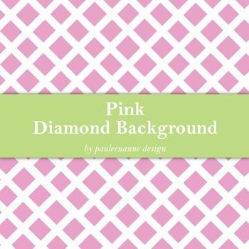 Pink Diamond Pattern Background