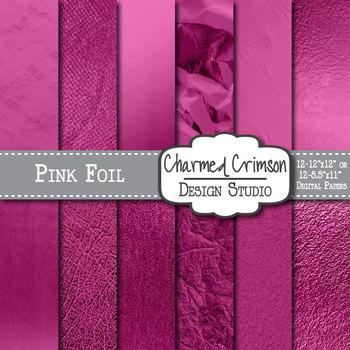 Pink Digital Foil Paper 1028