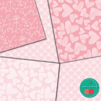 Valentines Digital Paper