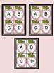 Pink Dot Apple Alphabet Letter Flashcards