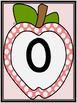 Pink Dot Apple Full Page Number Posters 0-100