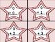 Pink Dot Star Addition Flashcards 0-12
