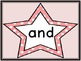 Pink Dot Star  Dolch Pre-Primer Sight Word Flashcards and Posters