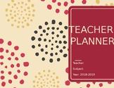 Pink Editable Planner