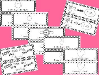 Pink Emergent Reader