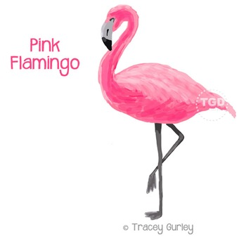 graphic regarding Flamingo Printable named Red Flamingo - flamingo clip artwork, flamingo Printable Tracey Gurley Options