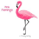 Pink Flamingo - flamingo clip art, flamingo Printable Trac