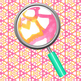 Pink Grapefruit Watercolor Handpainted Backgrounds / Digital Papers