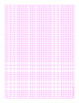 Pink Graph Paper Five Lines Per Inch Heavy Index Lines