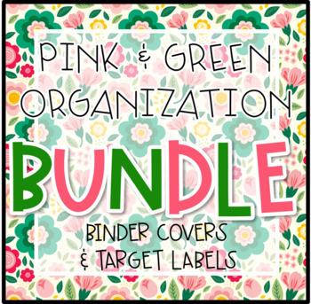 Pink & Green Organization Bundle