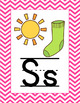 Pink & Green  Themed Classroom Poster Bundle