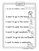 Pink Gumball Sight Words in Sentences