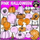 Pink Halloween Clip Art Set {Educlips Clipart}