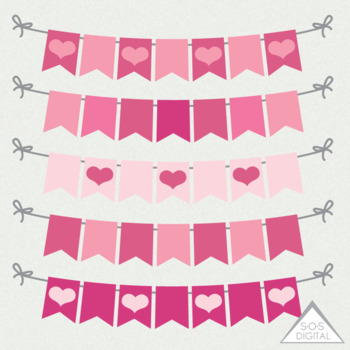 image regarding Valentine Banner Printable titled Valentines Working day Letterhead, Letter Mind, E-newsletter clipart, center banner