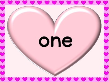 Pink Heart Fry List 2 From 1st 100 Sight Word Posters and Flashcards